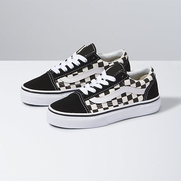 Kids Checkerboard Old Skool | Shop Girls Shoes | Boys shoes