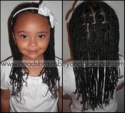 Natural Box Braids With Images Kids Braided Hairstyles Single