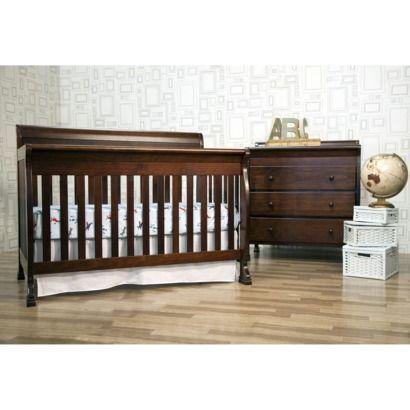 DaVinci Kalani 4-in-1 Convertible Crib with Toddler Rail - Espresso ...