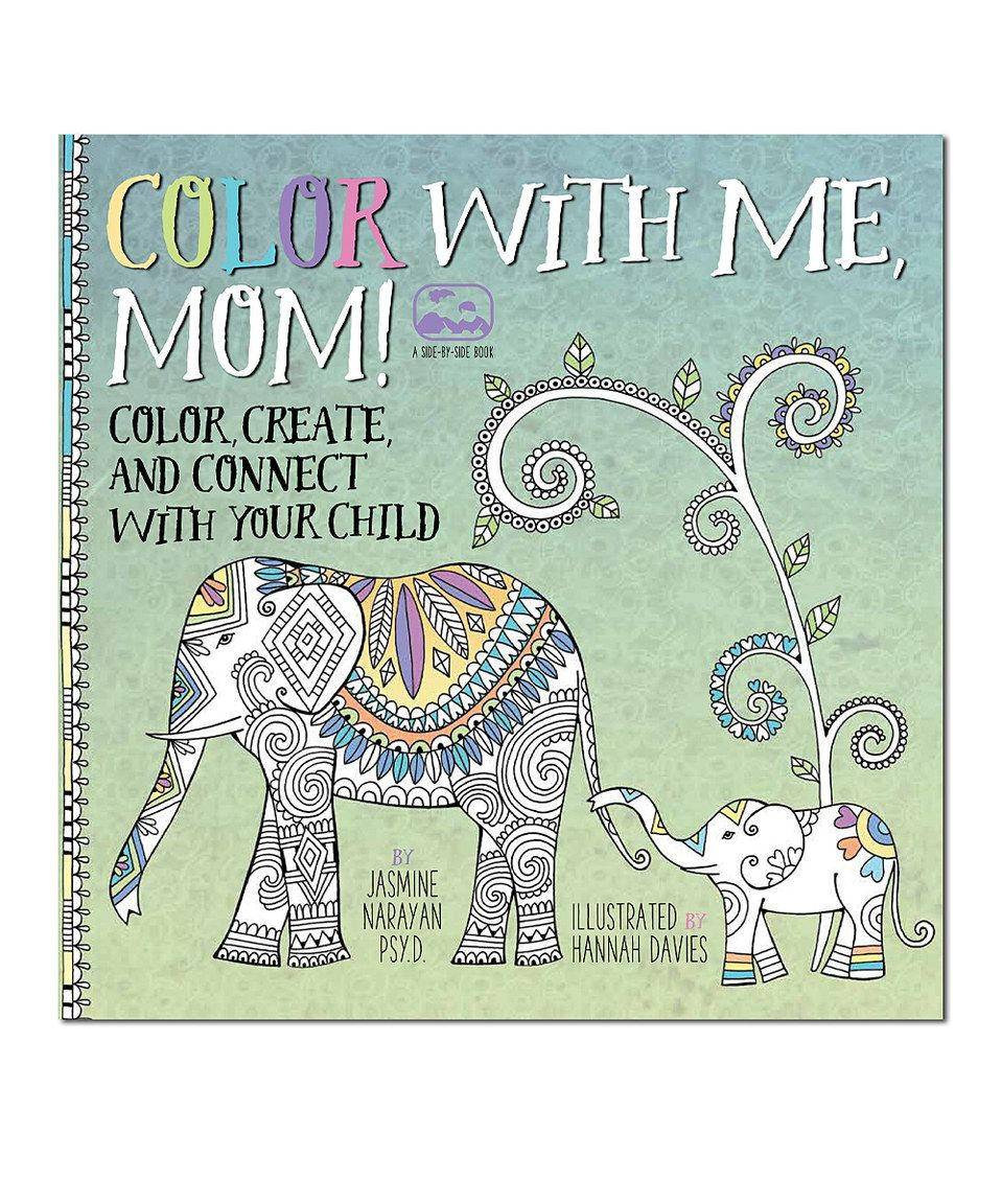 Another great find on #zulily! Color with Me, Mom! Coloring Book by ...