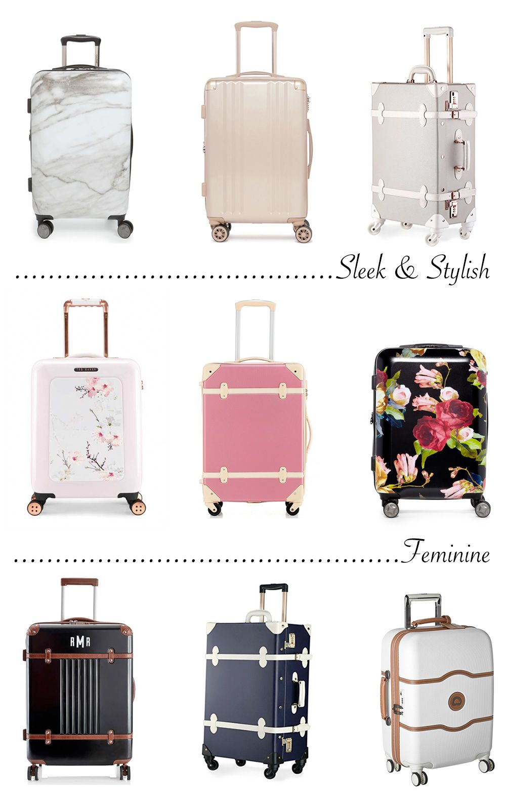 It's probably no surprise that I'm always on the lookout for cute luggage!  I often hear recommendations to invest in a nice suitcase to last a  lifetime, ...