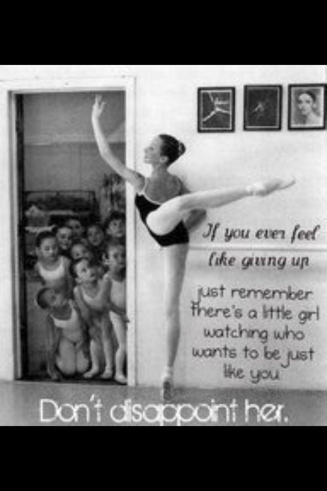 How I felt as a dance teacher and now as a mom!