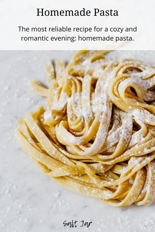 Homemade Pasta Salt Jar Recipe Homemade Pasta Handmade Pasta Recipe Recipes