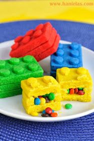 Photo of Lego Bricks Pinata Cookies