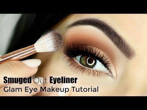 beginner friendly smokey cat eye blurry/smudge eyeliner