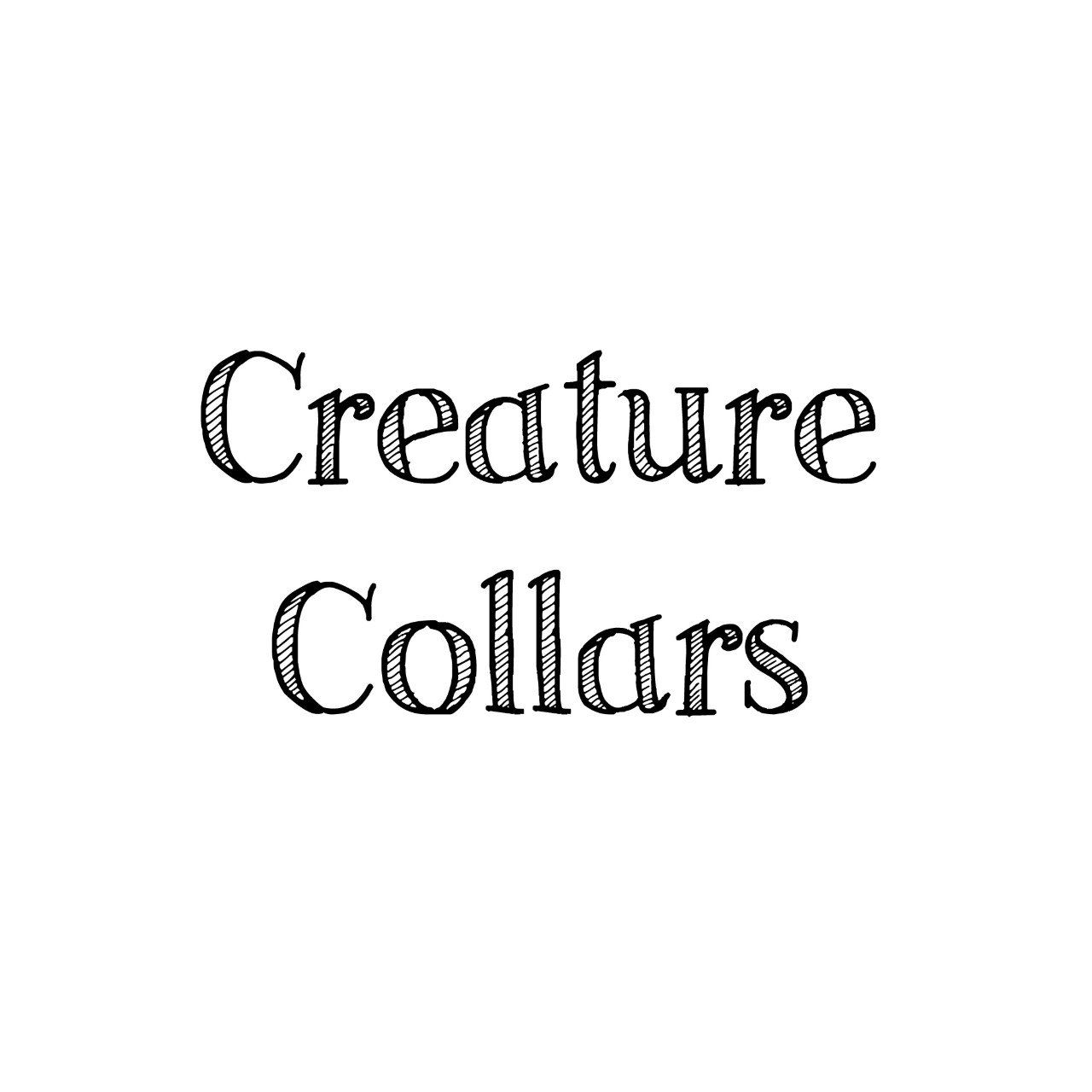 Browse Unique Items From Creaturecollars On Etsy A Global