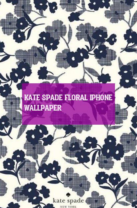 kate spade floral iphone wallpaper