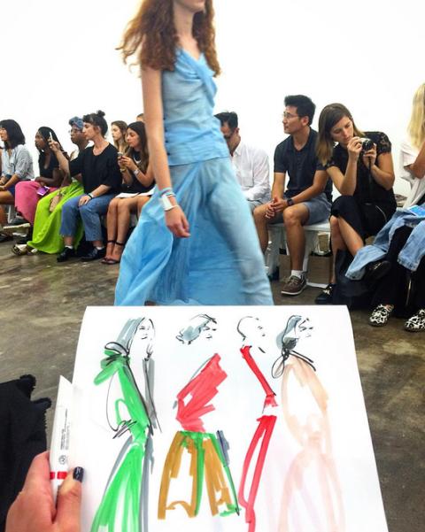 12 must-follow fashion illustrators on Instagram: