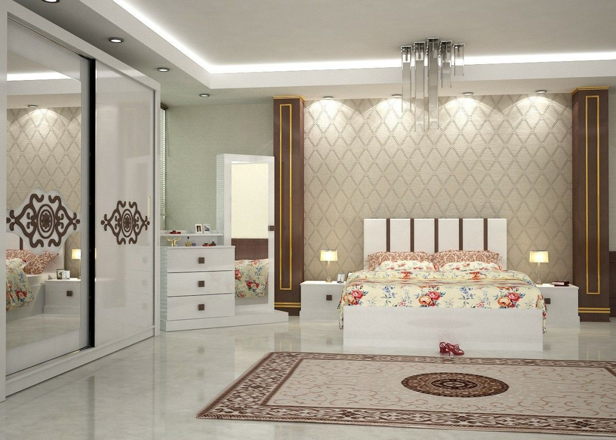Quality Bedroom Furniture Manufacturers Riva Konfort Bedroom Set Walnut 2 Turkey Furniture Factory