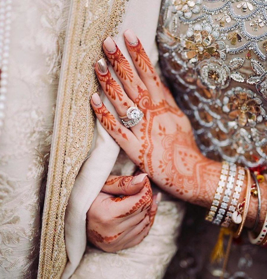 35 Striking Engagement Rings We Spotted On Real Brides Glamorous Wedding Indian Engagement Ring Indian Engagement