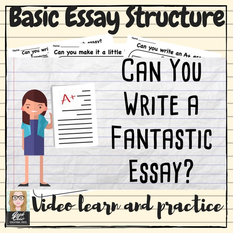 English Ela Writing I Bet You Can Basic Essay Formstructure Video  A Short  Minute Video Introducing The I Bet You Can Mnemonic For  Remembering And Using The Correct Essay Structure Teach Students The  Basics Of Essay  Samples Of Persuasive Essays For High School Students also Theses For Sale  Custom Writers Net