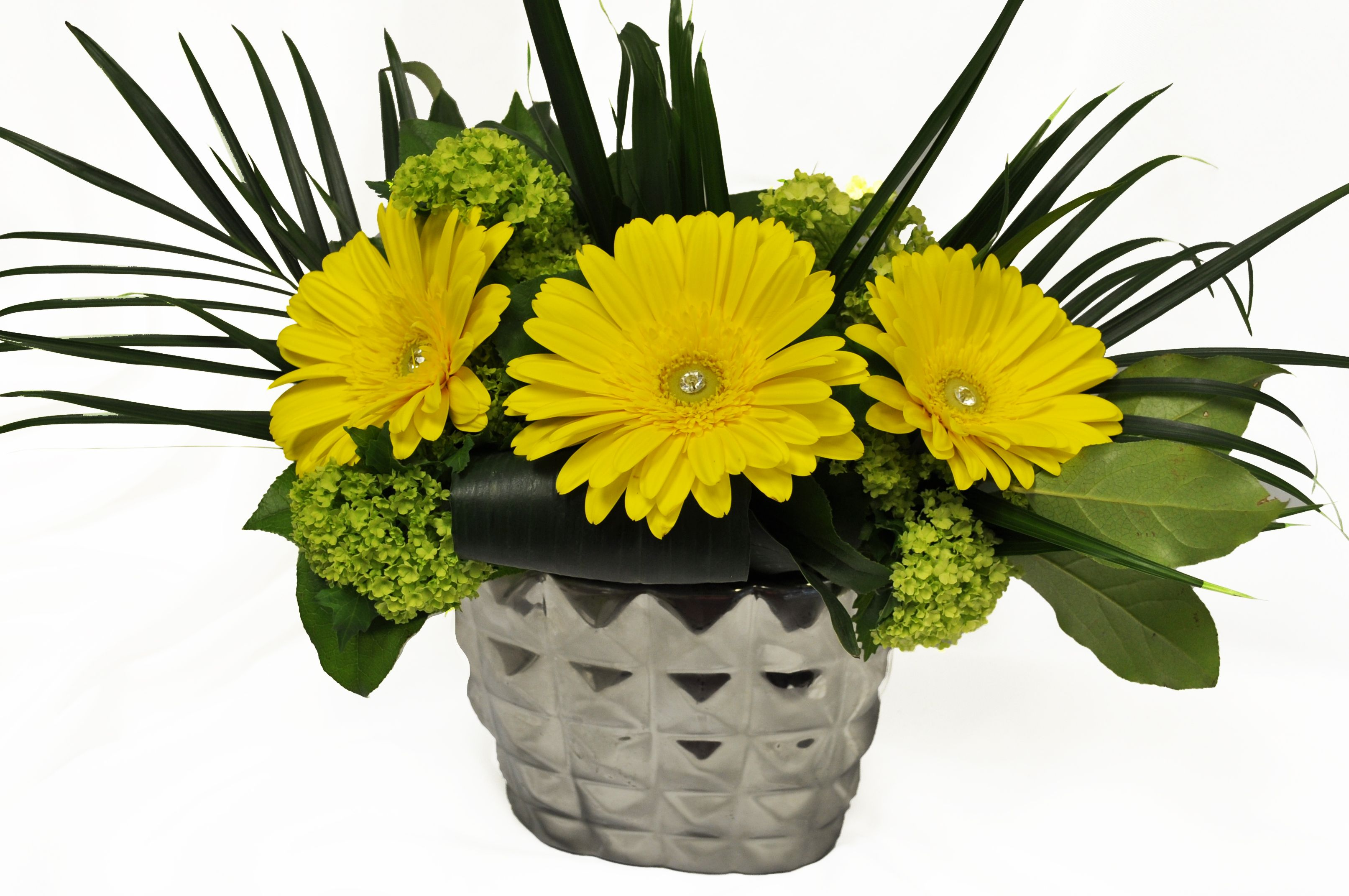 Unique Yellow Arrangement Order flowers online, Flowers