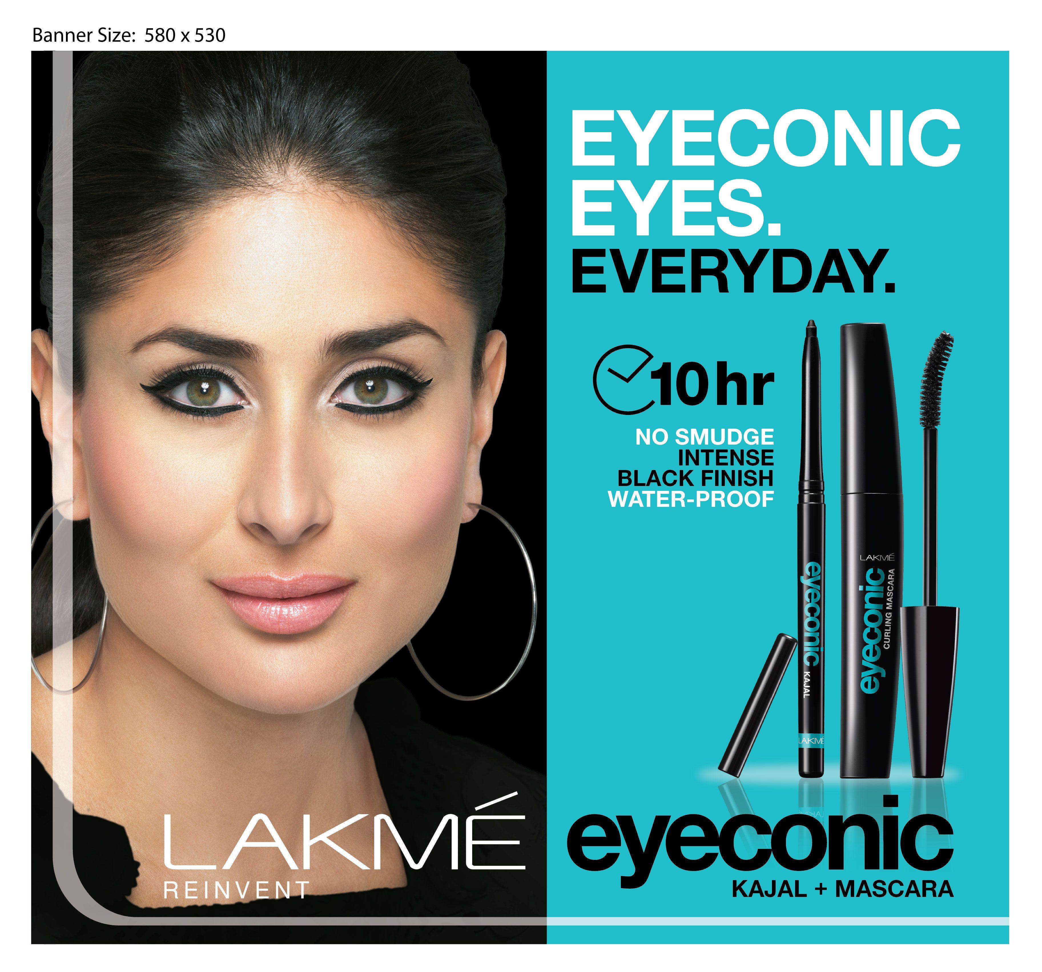 Shop Online Lakme Eyeconic Kajal, Black Lakme eyeconic