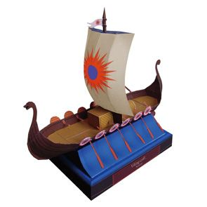 Free 9 Page #Viking paper ship download  The scourge of
