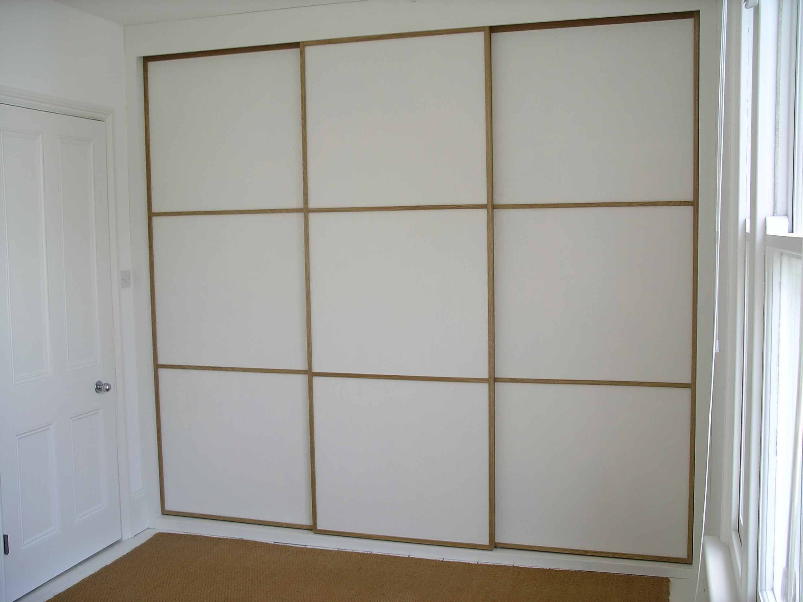 New doors for fitted wardrobes - Makers Of Handmade Painted And Hardwood Kitchens Home Offices Bespoke Fitted Cupboards Built In Wardrobes And Bookcases