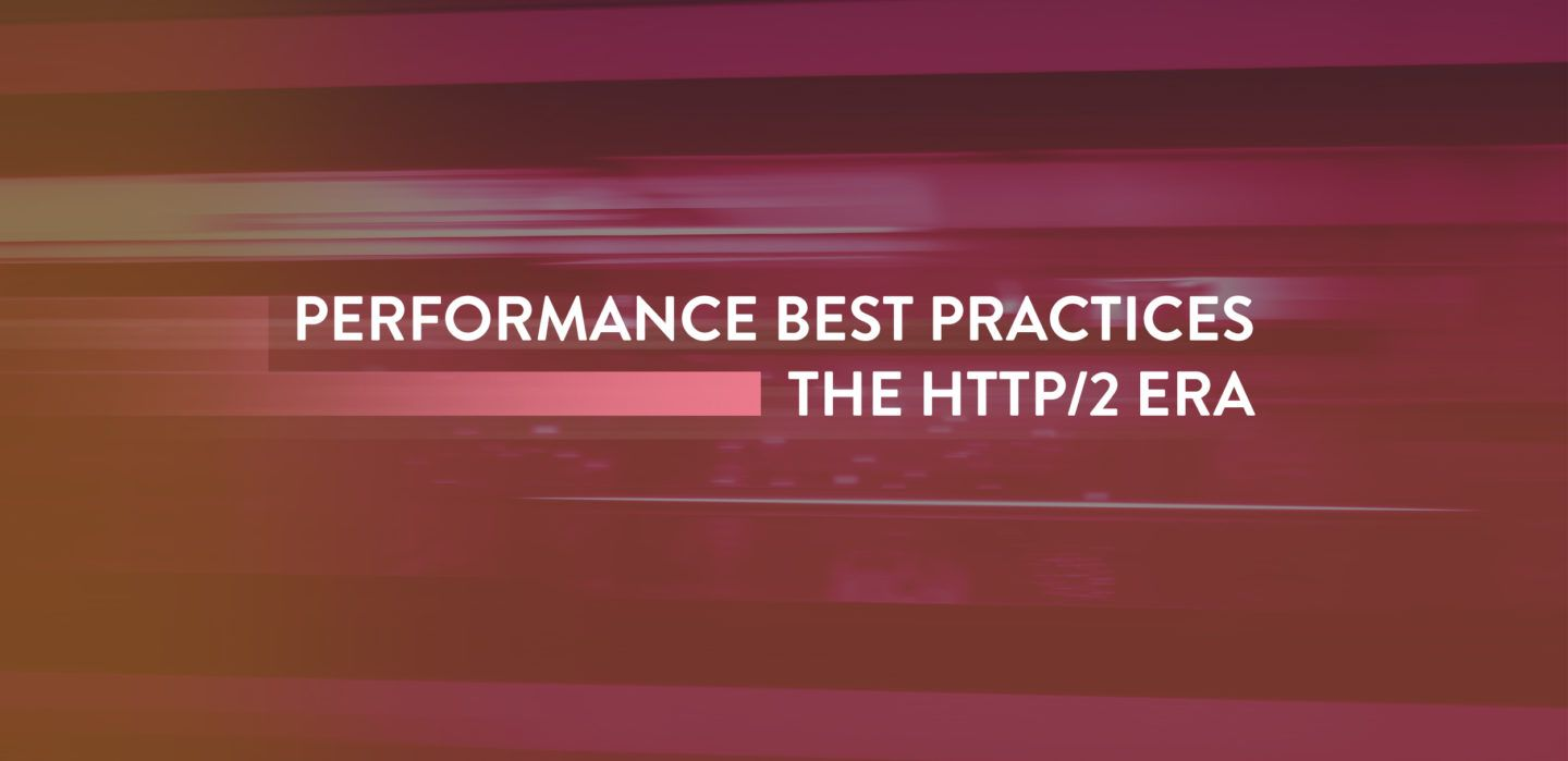 Hypertext Transfer Protocol (HTTP) has been around since 1991, and we haven't seen a major update since 1999, when HTTP/1.1 was released. During this time a lot of performance best practices have been passed around the web to try and circumvent some of the shortcomings in HTTP/1.1. Sites such as Pingdom and GTmetrix are the …