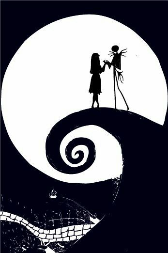 We Could Live Like Jack And Sally If You Want Illustratie Tatoeages Poster
