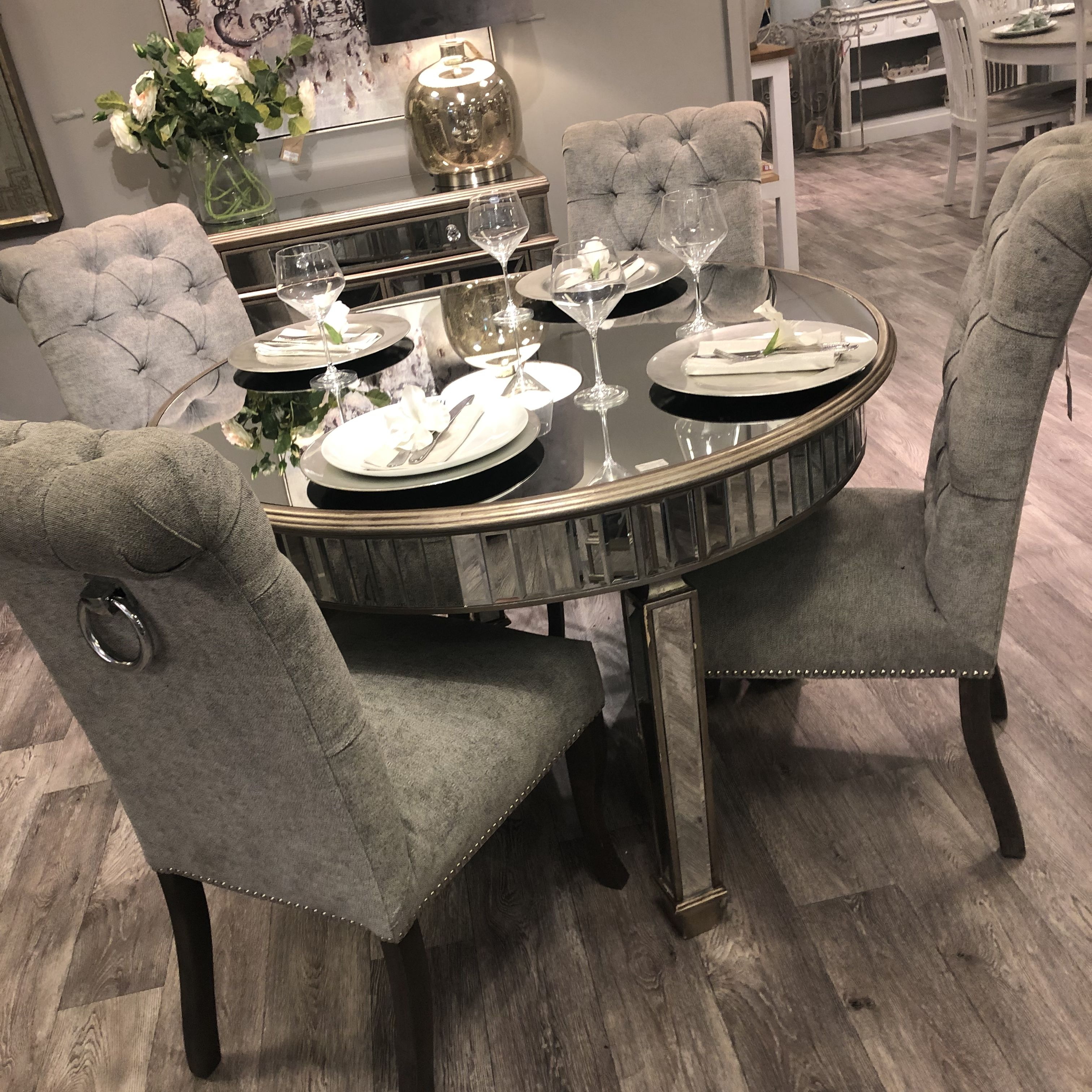 Glam Collection Dining Table My Glamorous Place Dining Room Table Centerpieces Grey Dining Tables Dining Table Marble