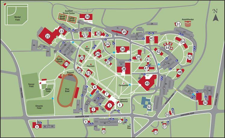 Whitworth University Campus Map.Whitworth University Whitworth University Campus Map School Daze