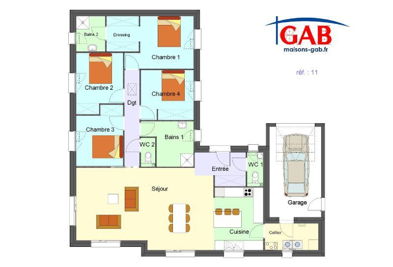 afficher limage dorigine plan maisonmaison plain piedla - Plan Maison 90m2 Plain Pied