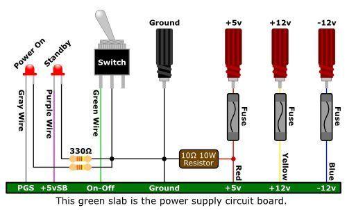 ATX Desktop Computer Power Supply   Electronics projects