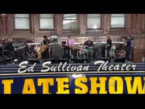 David Letterman intro at Sullivan Theater....Get Back  /  Paul McCartney