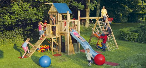 Drewniany Plac Zabaw Do Ogrodu I Zjezdzalnie Producent Rsc Bis Park Slide Park