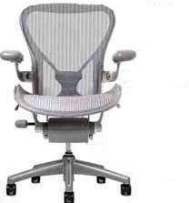 Aeron Chair By Herman Miller Size B Medium Highly Adjustable Titanium Smoke Frame Posturefit Chair Outdoor Dining Chair Cushions Beach Chair Umbrella