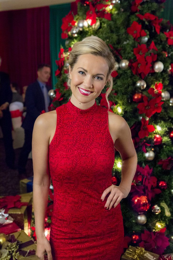With Love Christmas Chesapeake Shores Emilie Ullerup Stars As