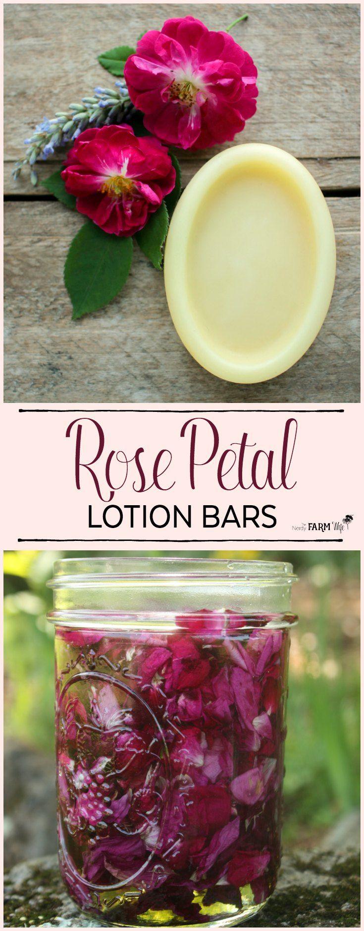 Diy rose lotion bars lotion bars diy lotion lotion