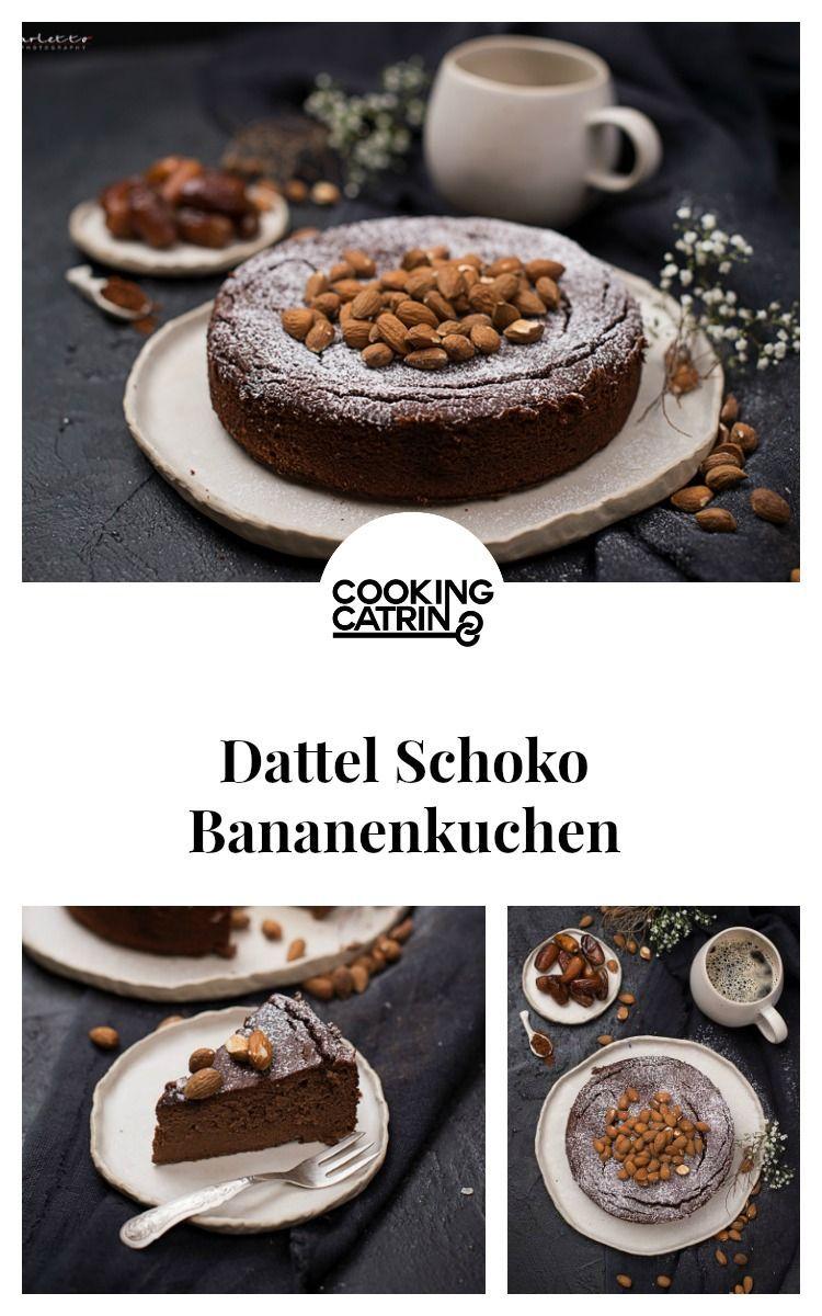 Dattel Schoko Bananenkuchen Rezept Bananen Kuchen Schoko Bananen Kuchen Ohne Zucker Bananenkuchen