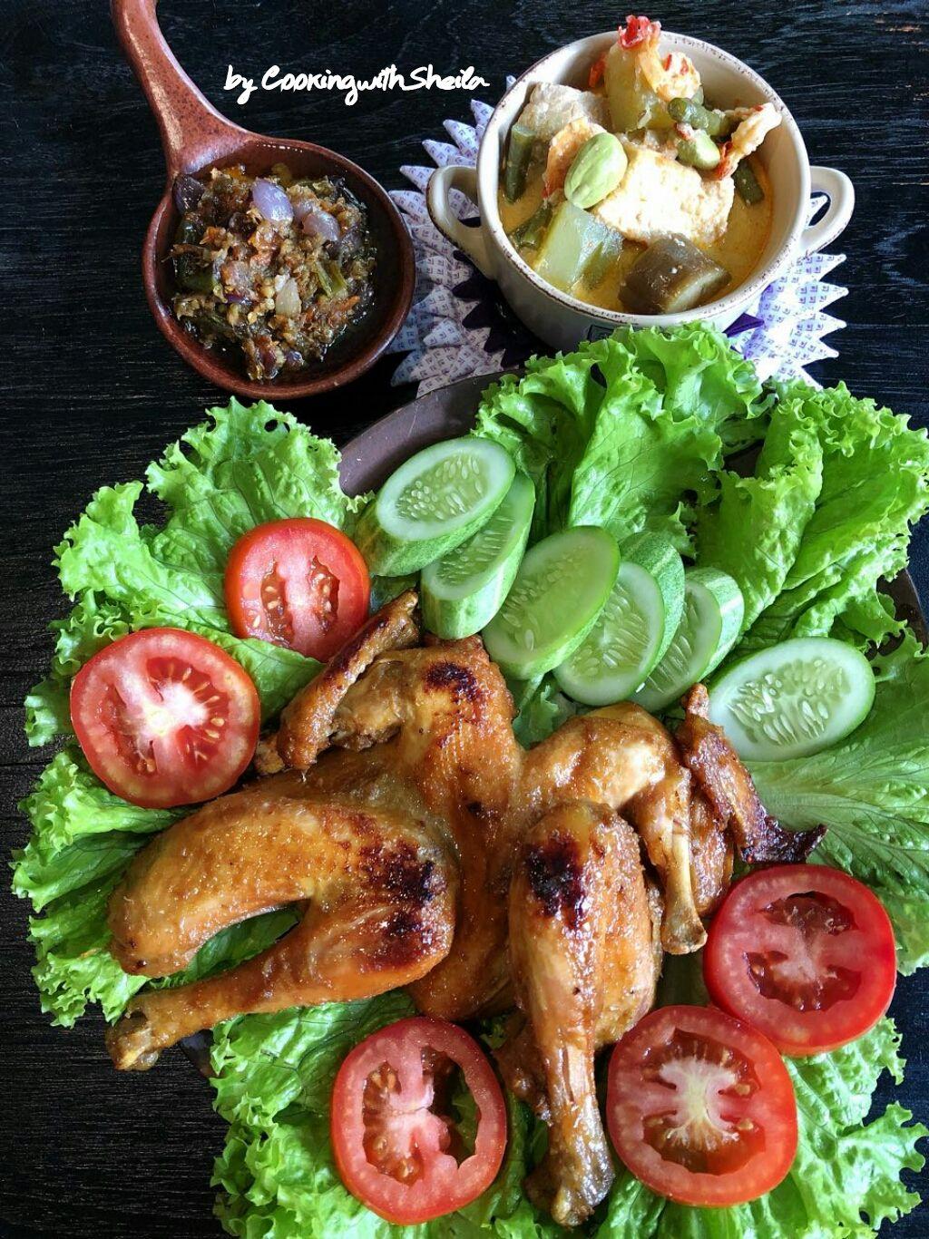 Ayam Goreng Kalasan Bumbunya Menurut Saya Mirip Dengan Bumbu Baceman Yang Membedakan Ayam Goreng Kalasan Mengguna Memasak Resep Masakan Indonesia Ayam Goreng