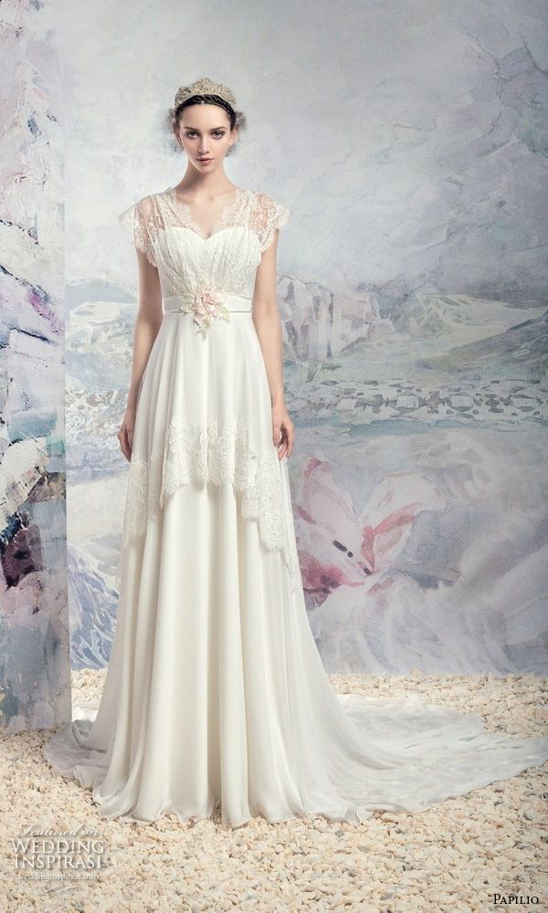 "Papilio 2016 Wedding Dresses — ""Swan Princess"" Bridal Collection ..."