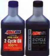 Amsoil Synthetic 2 Cycle Injector Oil And 100 1 Pre Mix Two Cycle