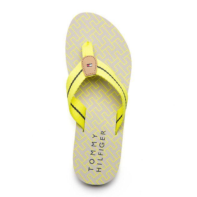 Tommy Hilfiger Monica Flip-flop - lemon tonic (Yellow / Orange) - Tommy Hilfiger Flip Flops - detail image 2