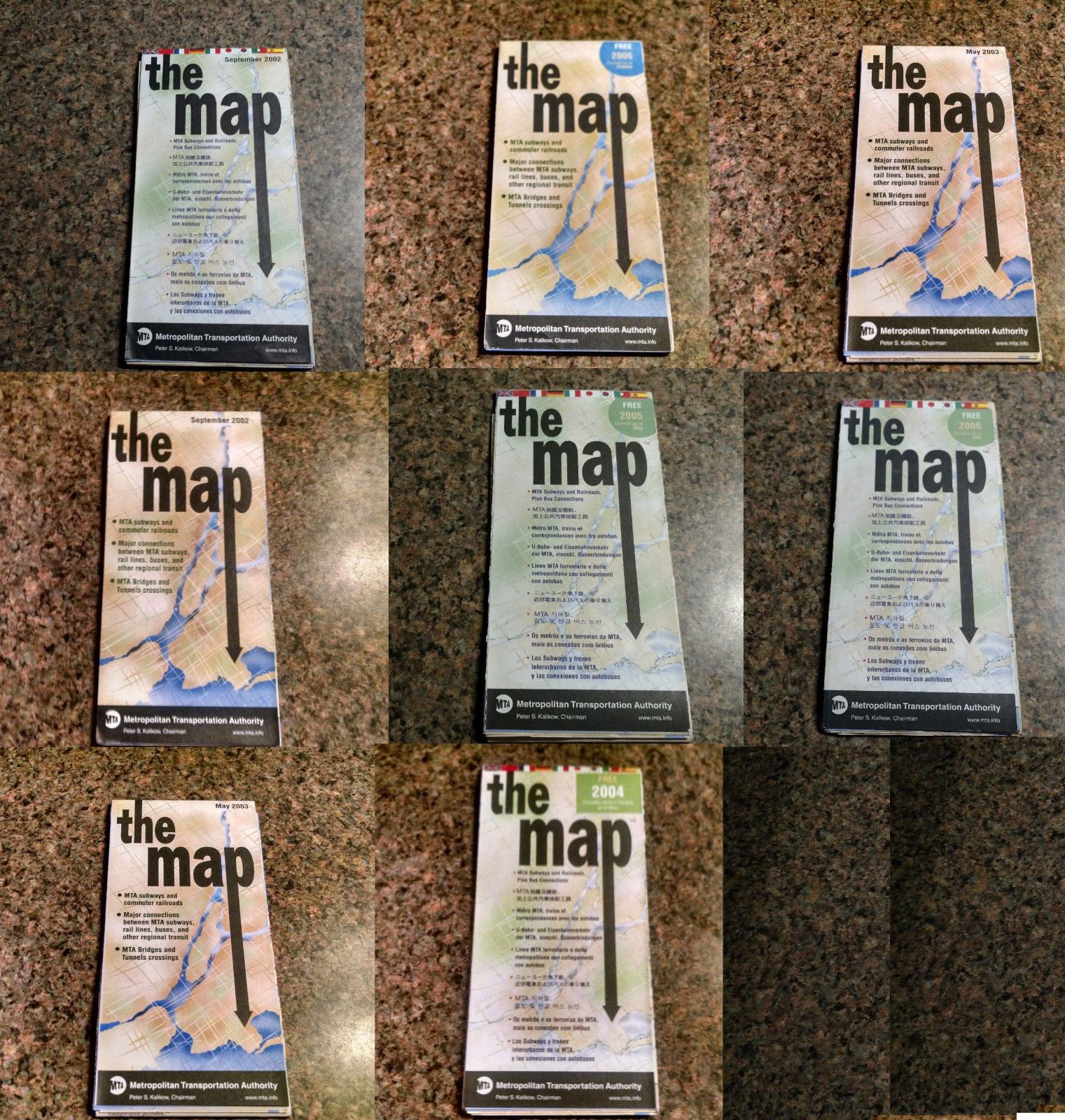 Lot 8 Nyc Subway Map Manhattan Brooklyn