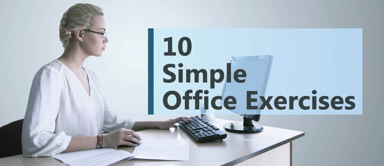 10 office exercises and tips for workout at work fitness rh pinterest com