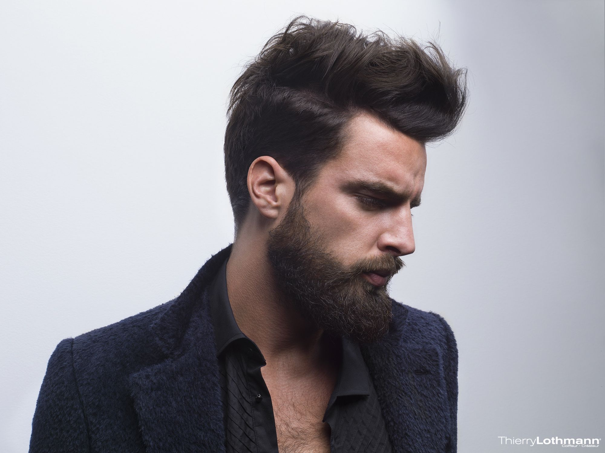 Coiffure Homme Plus Barbe Coupehomme Hipsterstyle Barbe Tendance Coiffure