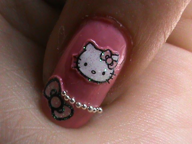 Hello Kitty Nails Designs Hello Kitty Easy Nail Designs For Long
