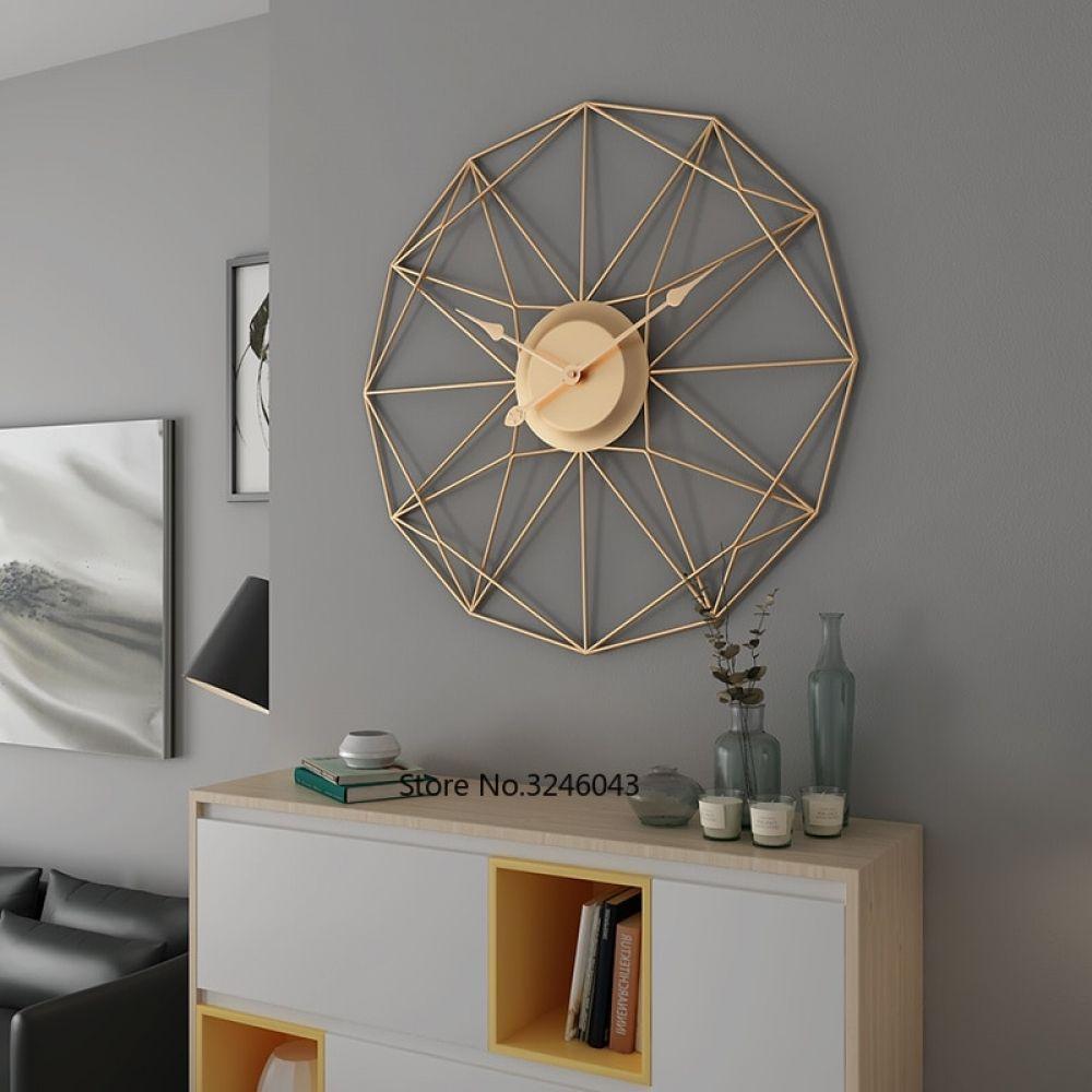 Art Wall Clock Shaped Living Room Decoration Clocks Nordic S