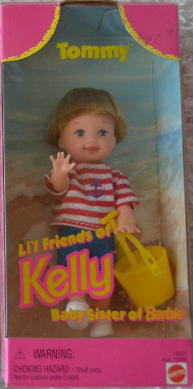 Lil Friends Of Kelly Tommy Doll Barbie Barbie Collection Baby Face
