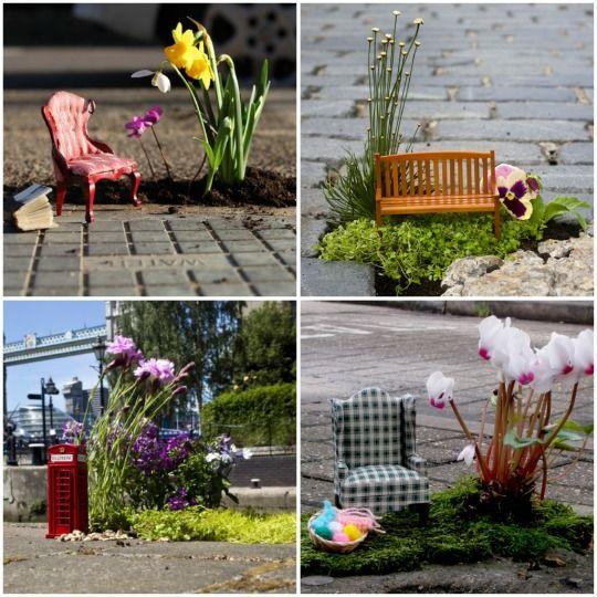 The Pothole Gardener | Guerrilla and East london