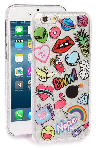SKINNY DIP Skinnydip 'Doodle' iPhone 6 & 6s Case available at #Nordstrom