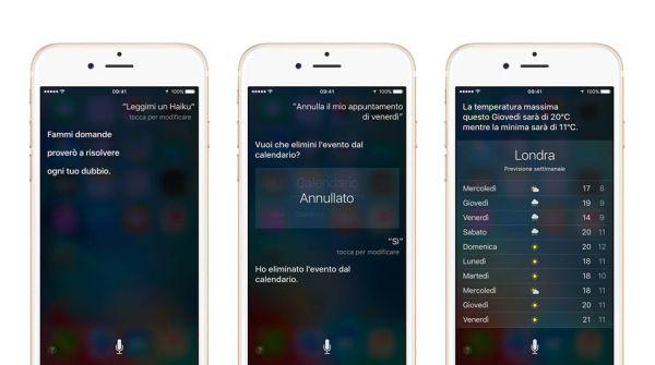 Ecco tutto quello che puoi chiedere a Siri http://www.sapereweb.it/ecco-tutto-quello-che-puoi-chiedere-a-siri/        Siri comandi. Foto: Apple L'utilità di Siri, l'assistente vocale che Apple ha messo al servizio degli utenti iPhone e iPad (e che presto arriverà anche su Mac) è fuori discussione, ma difficile da quantificare: nel corso degli anni i comandi che ha imparato a recepire sono diventati nume...