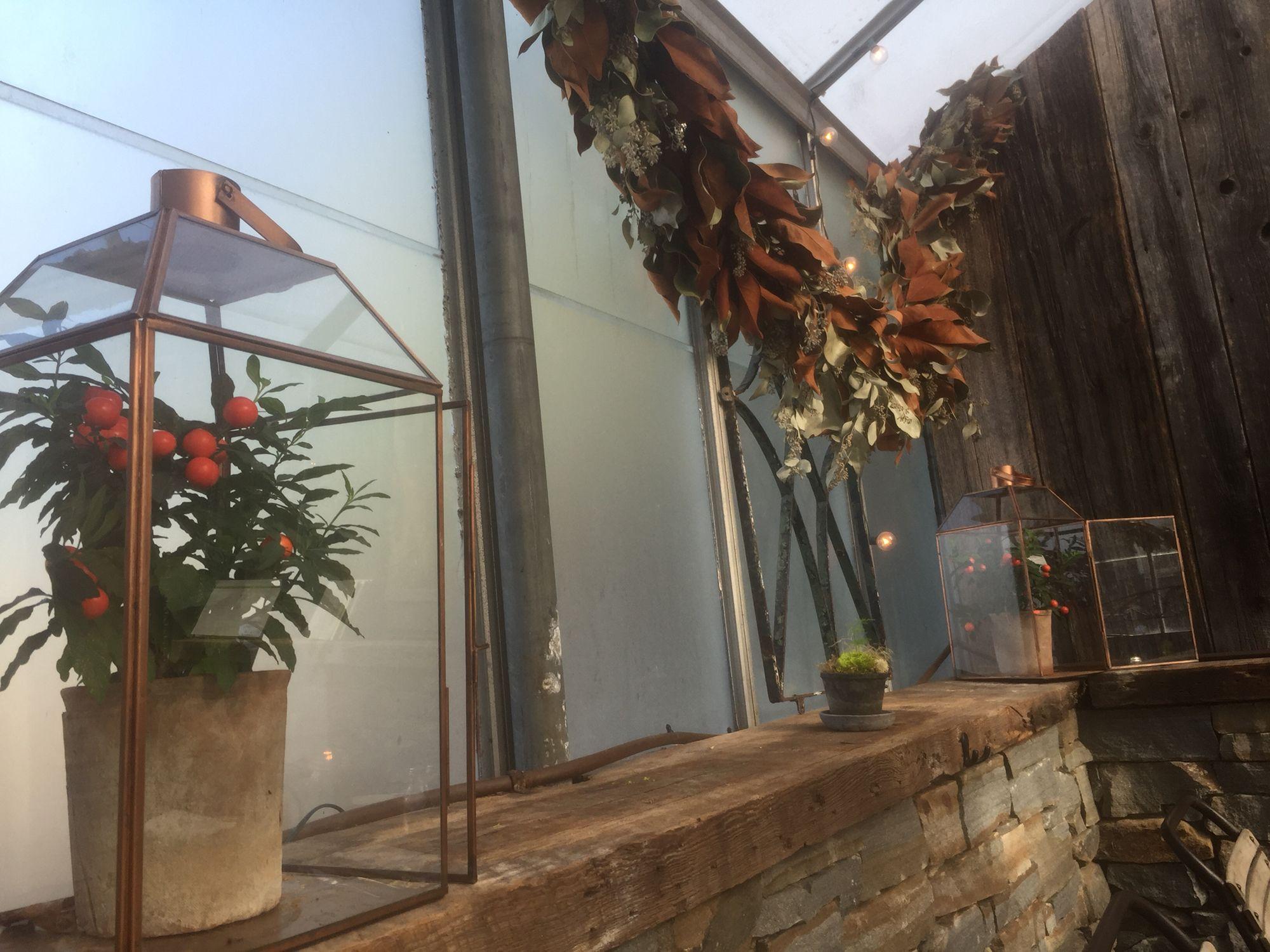 Window sill at Terrain