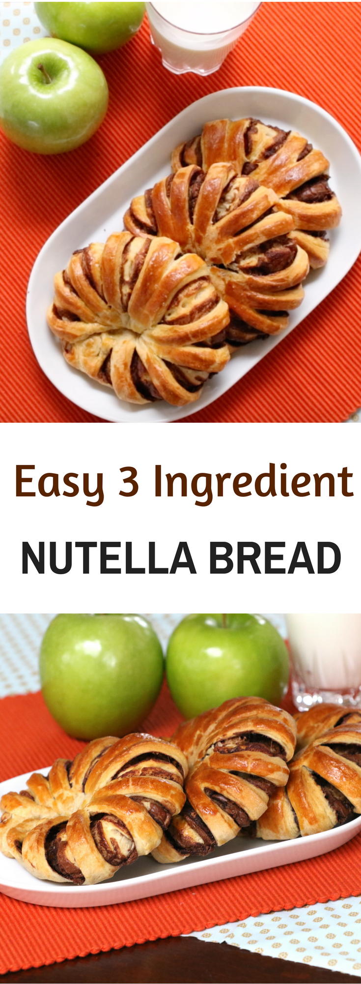 how to make nutella bread
