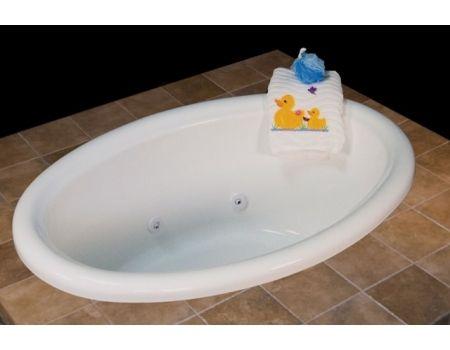 Djo5839 58 Inch X 39 Oval Bathtub