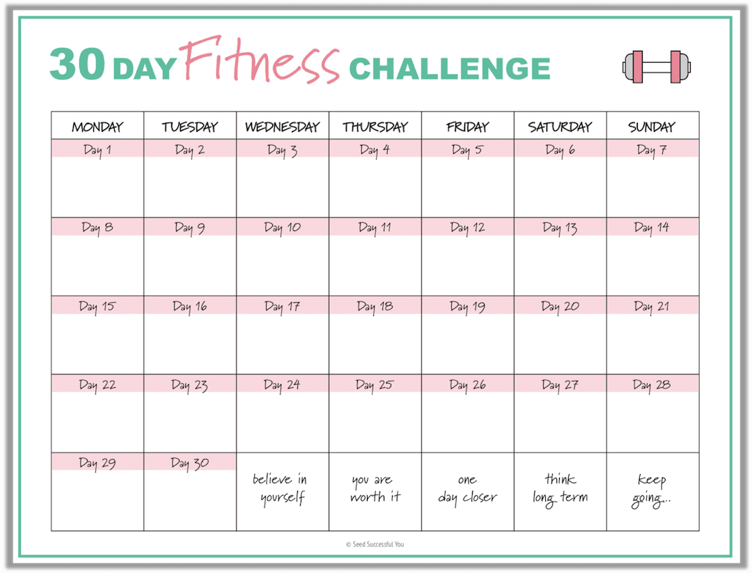 Free Fitness Planner Printables to Help You Achieve Your Fitness Goals -  - #achieve #Fitness #FREE...