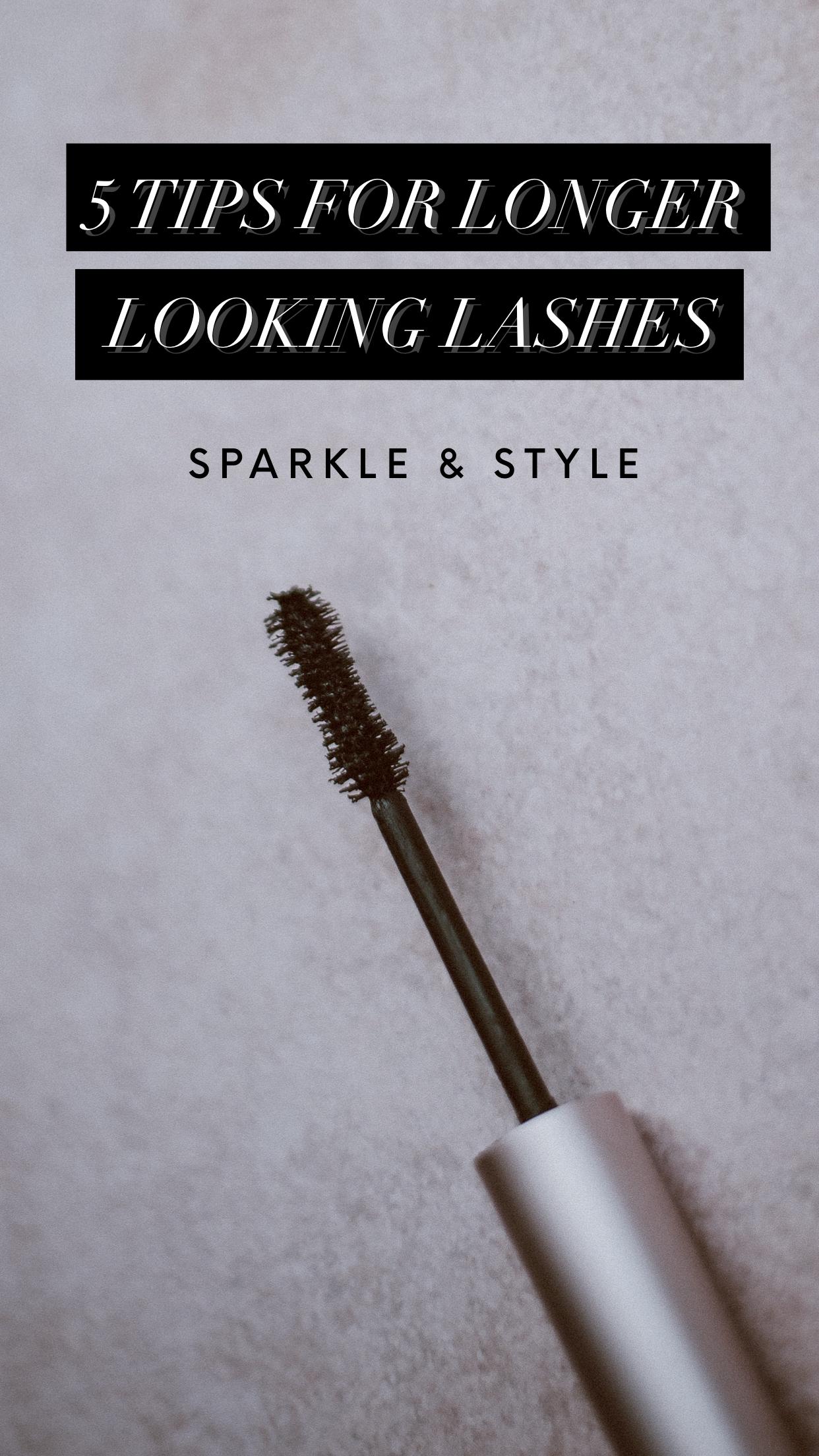 5 Tips For Longer Looking Lashes Beauty hacks eyelashes