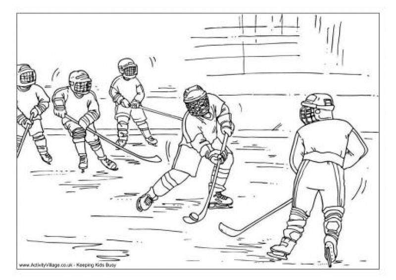 Hockey Practices Coloring Pages To Print For Free Letscolorit Com Ice Hockey Sports Coloring Pages Hockey